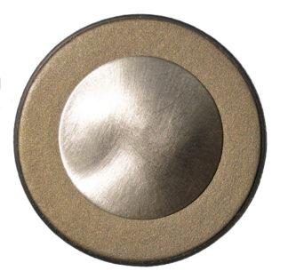 Photo of a gold nickel resonator