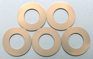 Photo of anodized aluminum stabilizers