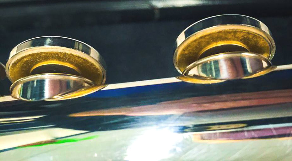 Photo of Gold Pads in Flute